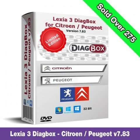 Diagbox 7.83 for Citroen/Peugeot
