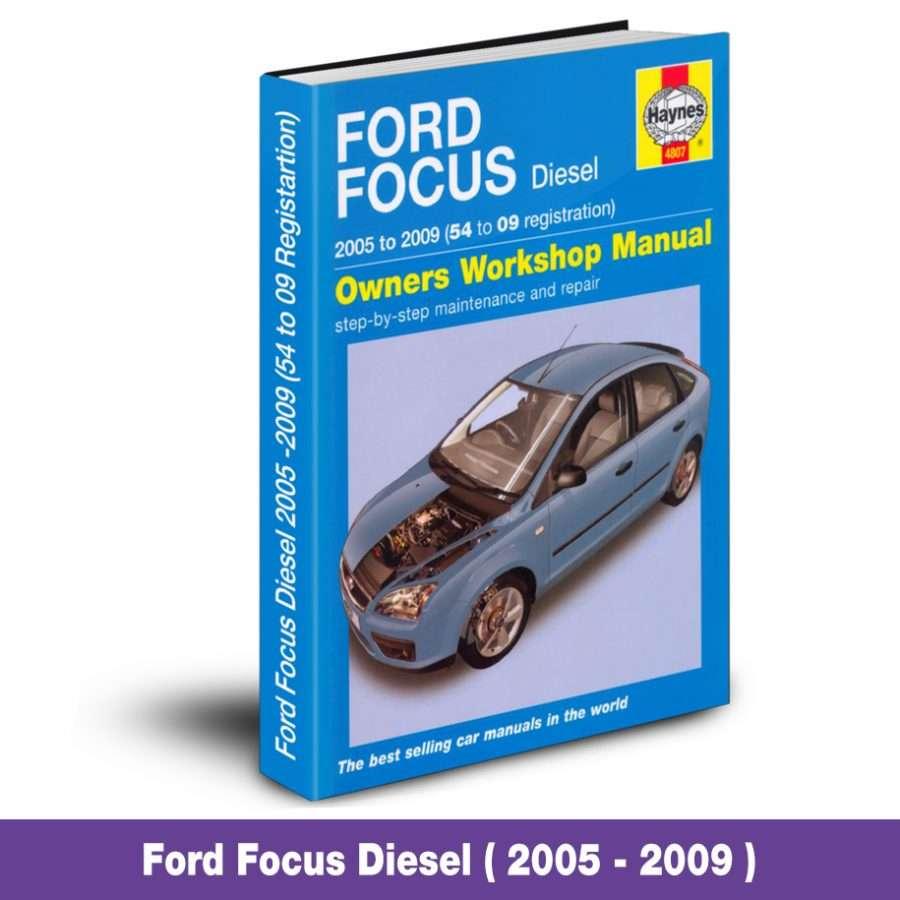 Ford Focus Service Repair Workshop Manual 05 09 Diesel Car Diagnostics 4 Less