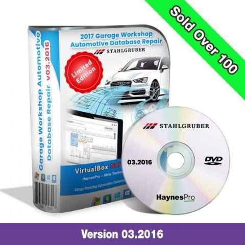 Garage Workshop Automotive Database