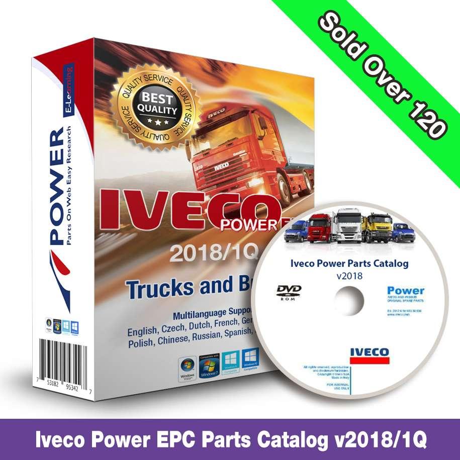 IVECO Power EPC Truck & Bus 2018/Q1 Electronic Parts