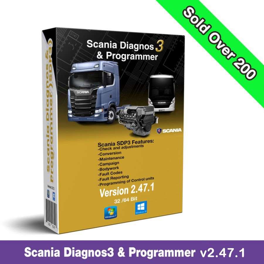 scania diagnos SPD3