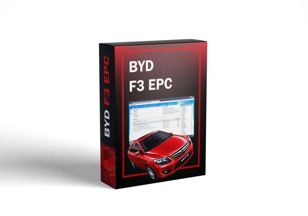 BYD F3 EPC