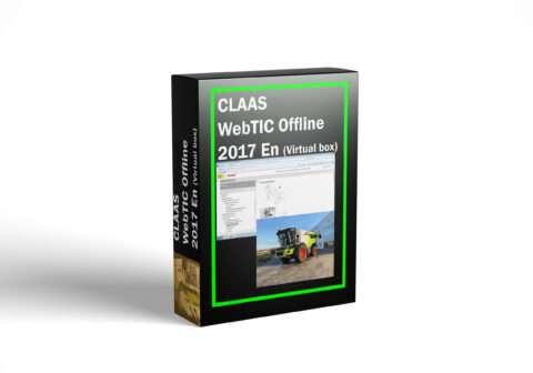 CLAAS WebTIC Offline 2017 En (Virtual box)