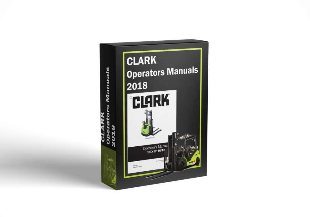 CLARK Operators Manuals