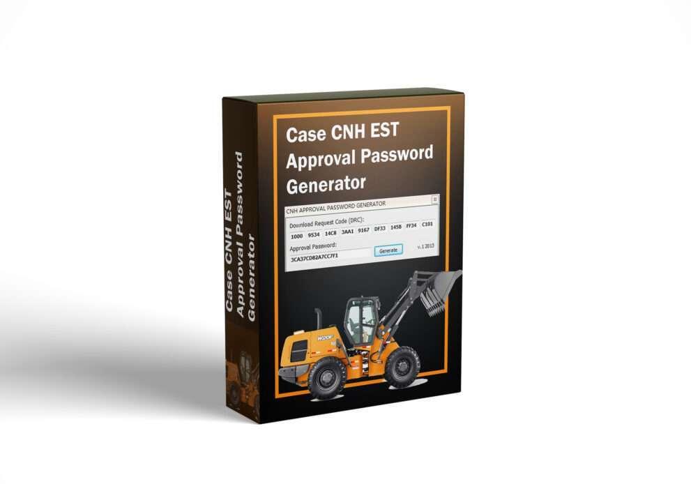 Case CNH EST Approval Password Generator