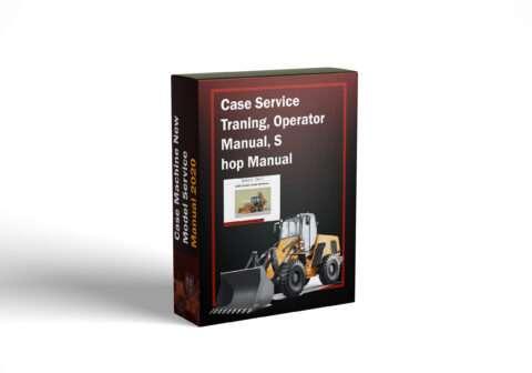 Case Service Training, Operator Manual, Shop Manual