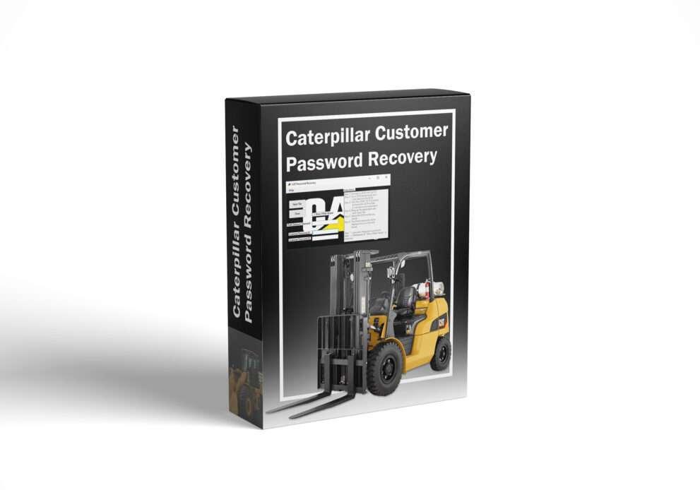 Caterpillar Customer Password Recovery