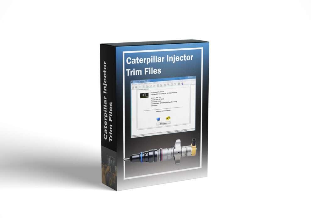 Caterpillar Injector Trim Files