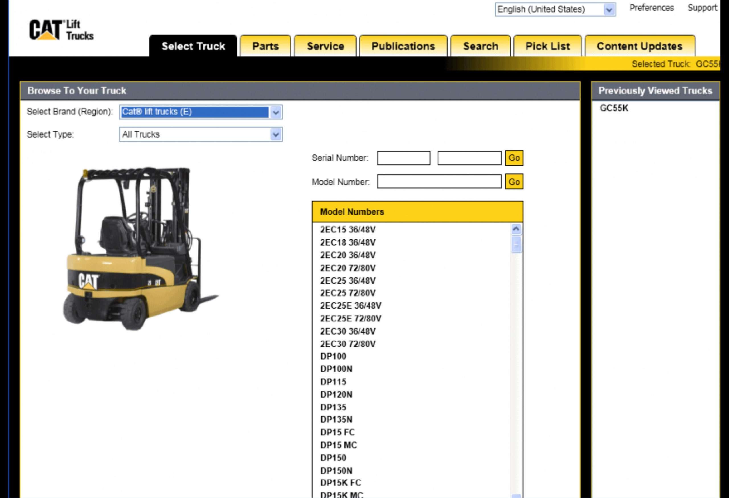 Caterpillar Lift Trucks (MCFE) SS-01