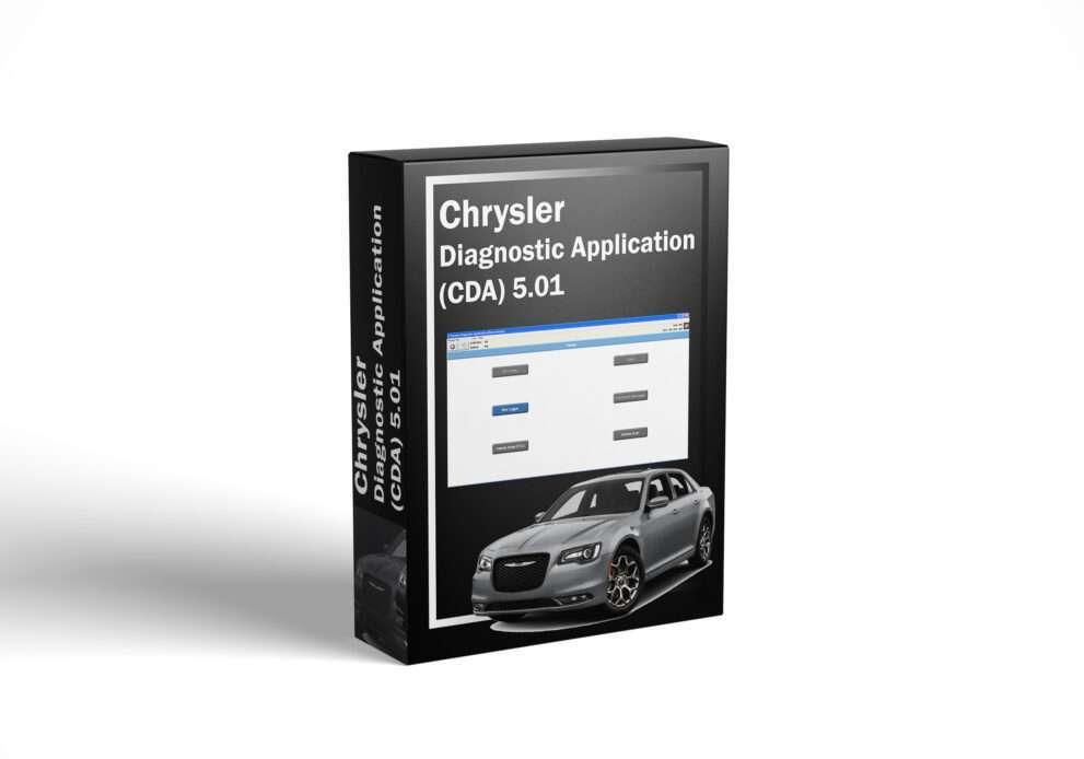 Chrysler Diagnostic Application (CDA) 5.01