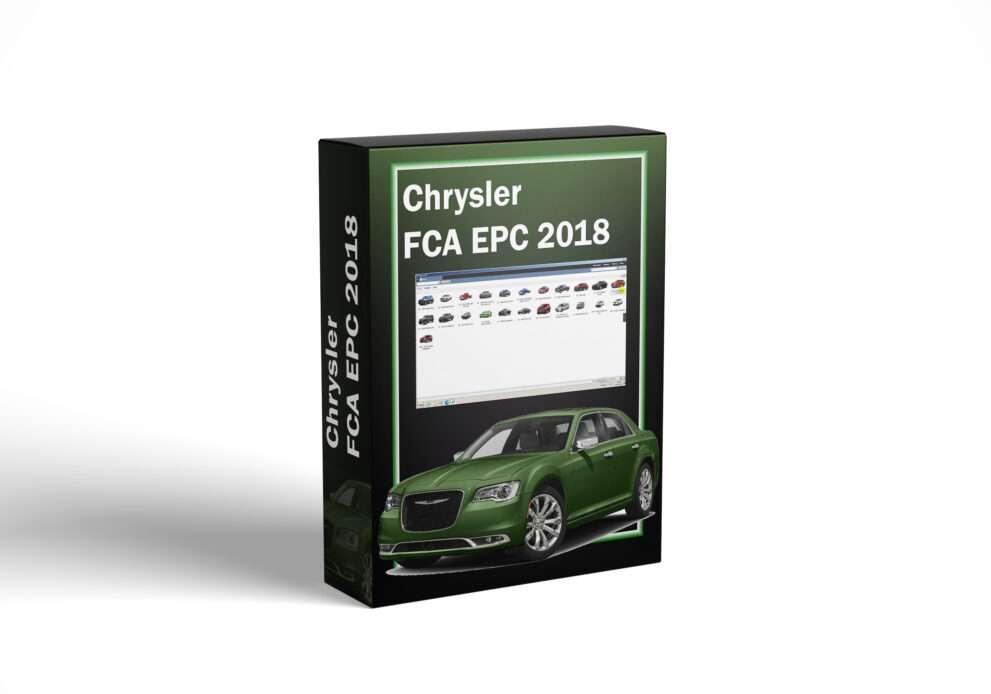 Chrysler FCA EPC 2018