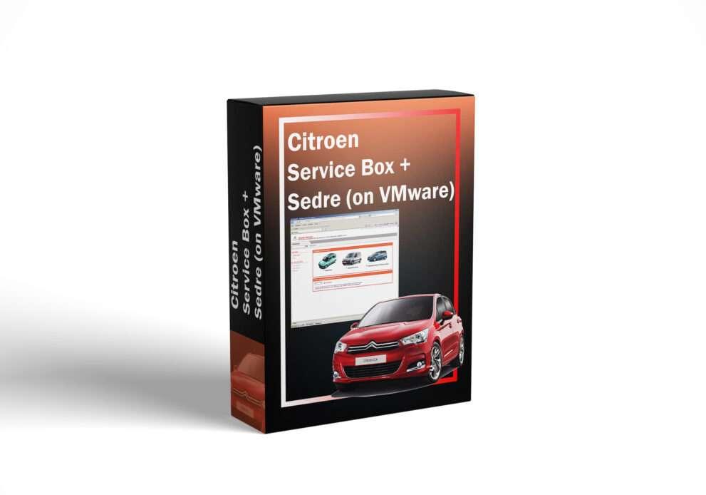 Citroen Service Box + Sedre (on VMware)
