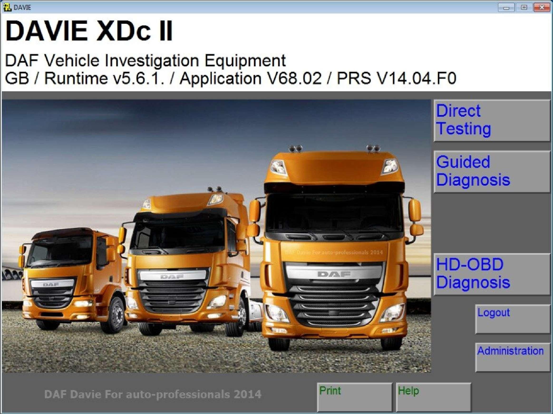 DAF DAVIE XDс II 5.6.1 SS-01