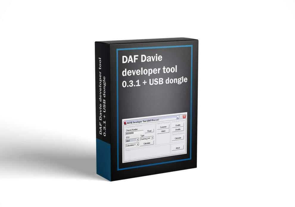 DAF Davie developer tool 0.3.1 + USB dongle