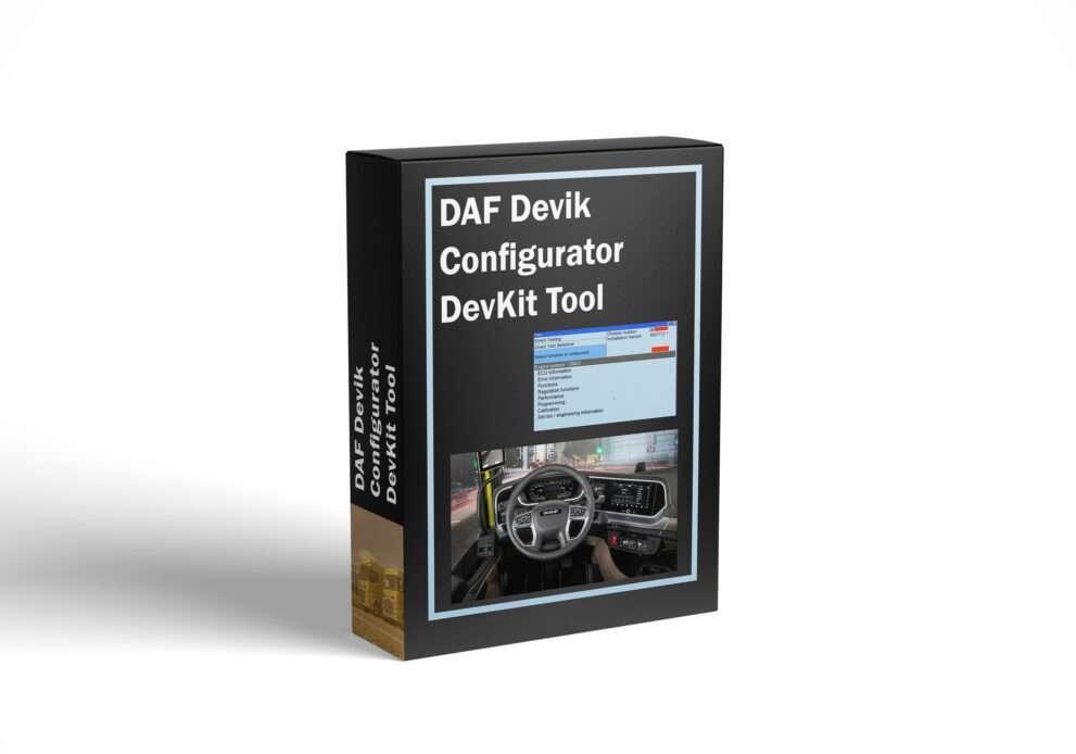 DAF Devik Configurator DevKit Tool