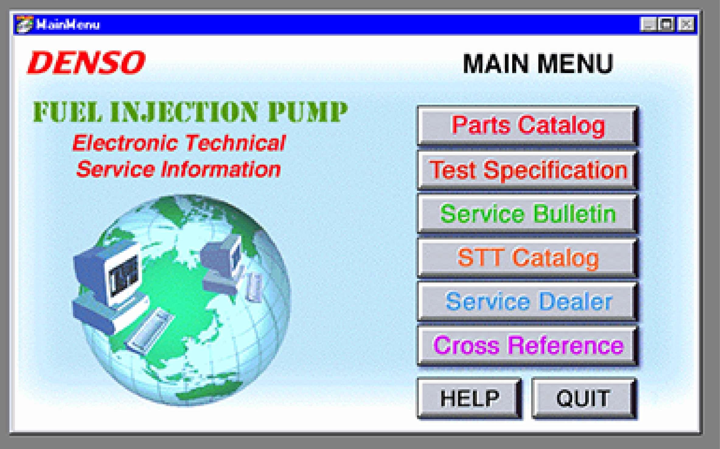 Denso ETSI (Electronic Technical Service Information) SS-01