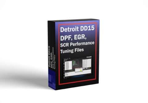 Detroit DD15 DPF, EGR, SCR Performance Tuning Files