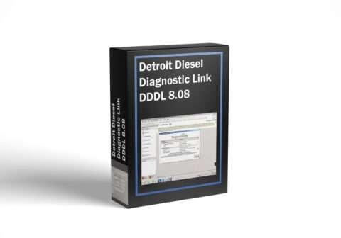 Detroit Diesel Diagnostic Link DDDL 8.08