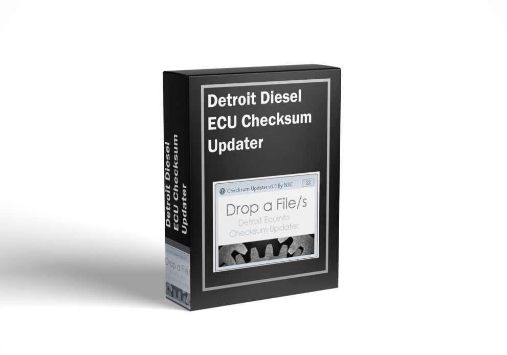 Detroit Diesel ECU Checksum Updater