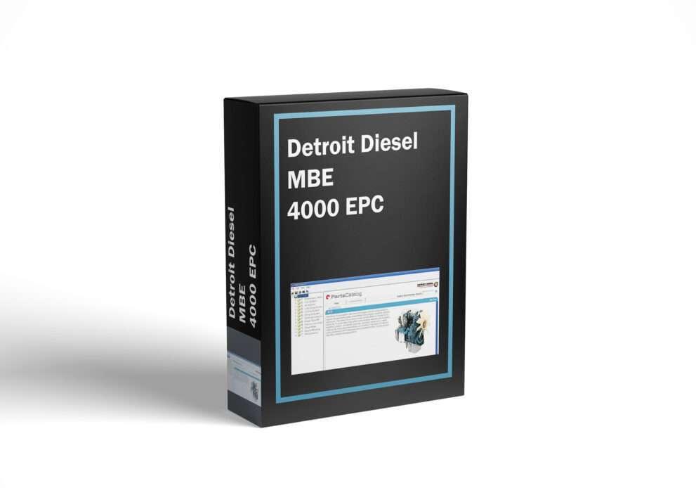 Detroit Diesel MBE 4000 EPC