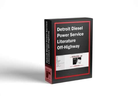 Detroit Diesel Power Service Literature Off-Highway