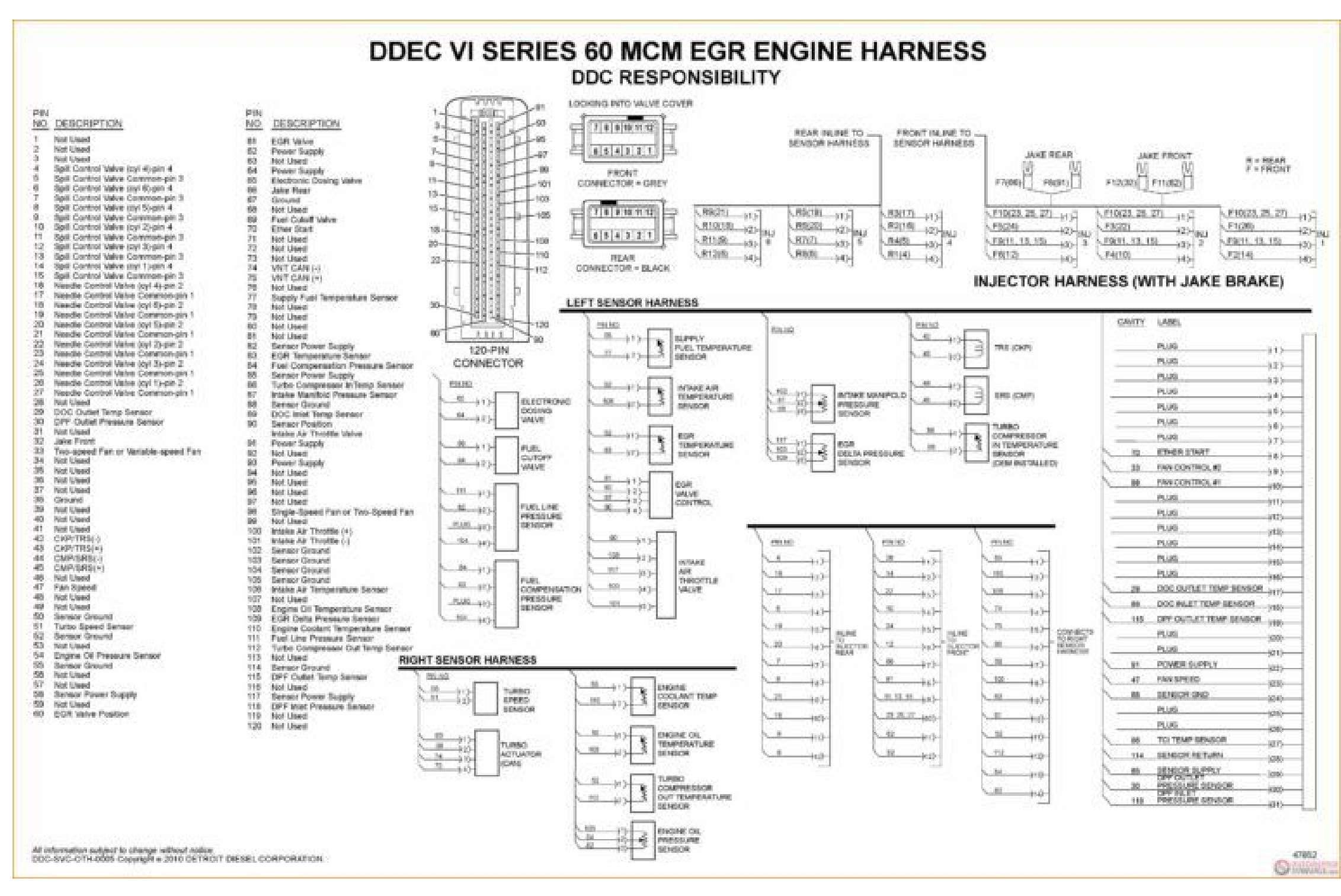 Detroit Diesel Wiring Diagrams SS-01