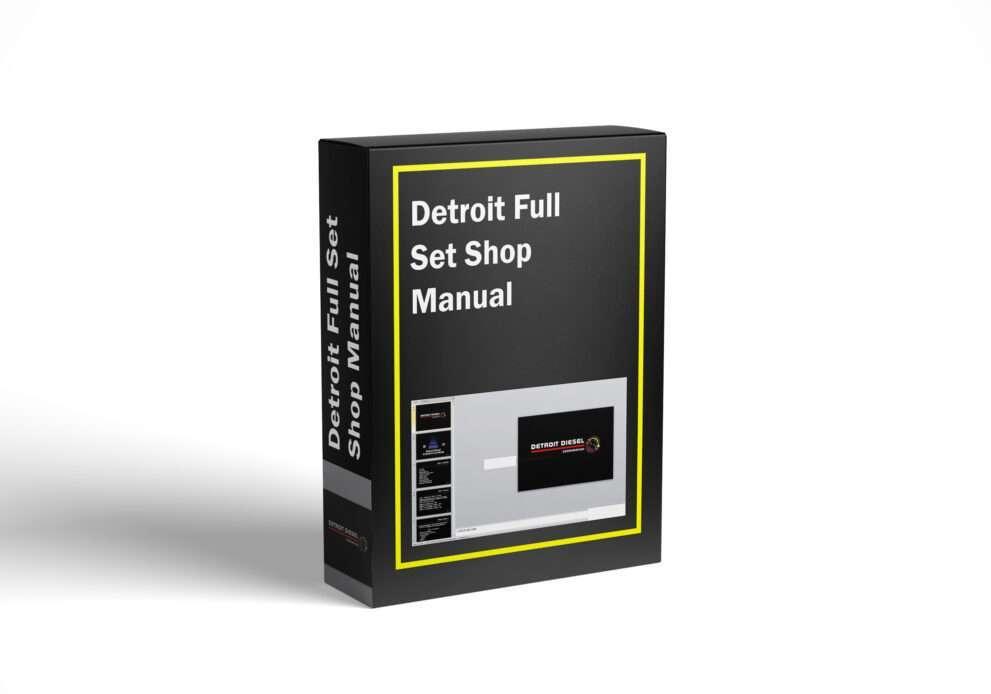 Detroit Full Set Shop Manual