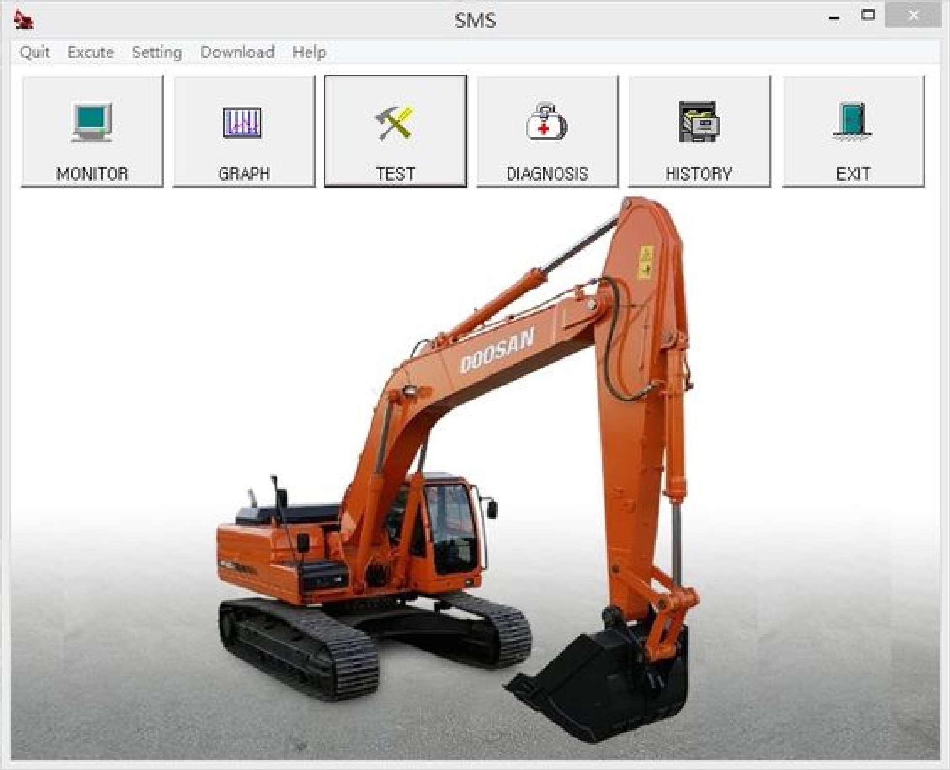 Doosan Diagnostic Software SMS SS-01