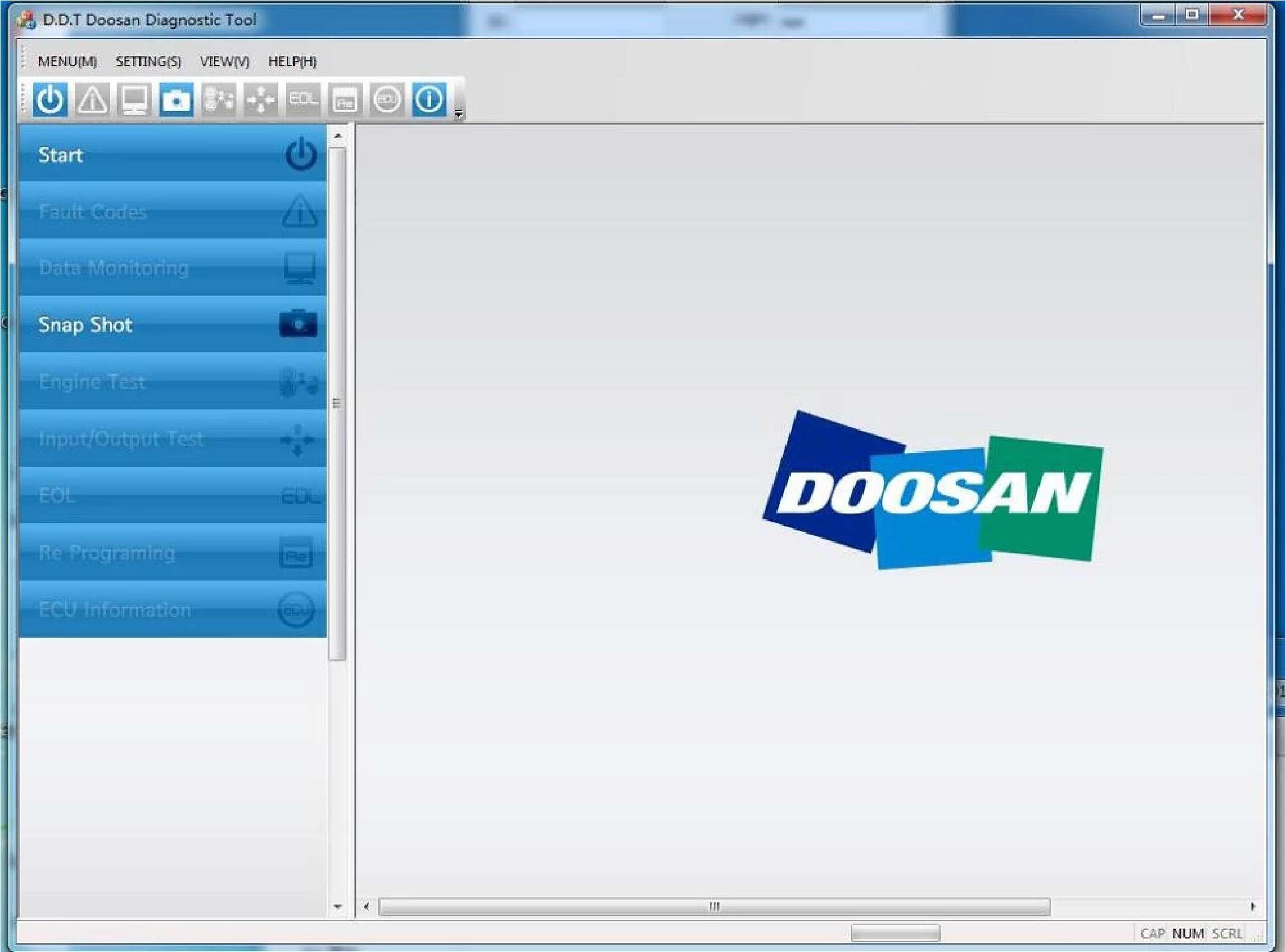 Doosan Diagnostic Tool (DDT) SS-01