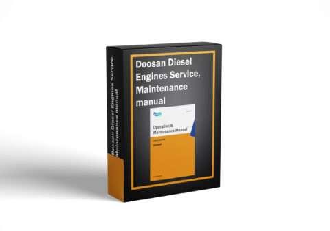 Doosan Diesel Engines Service, Maintenance manual