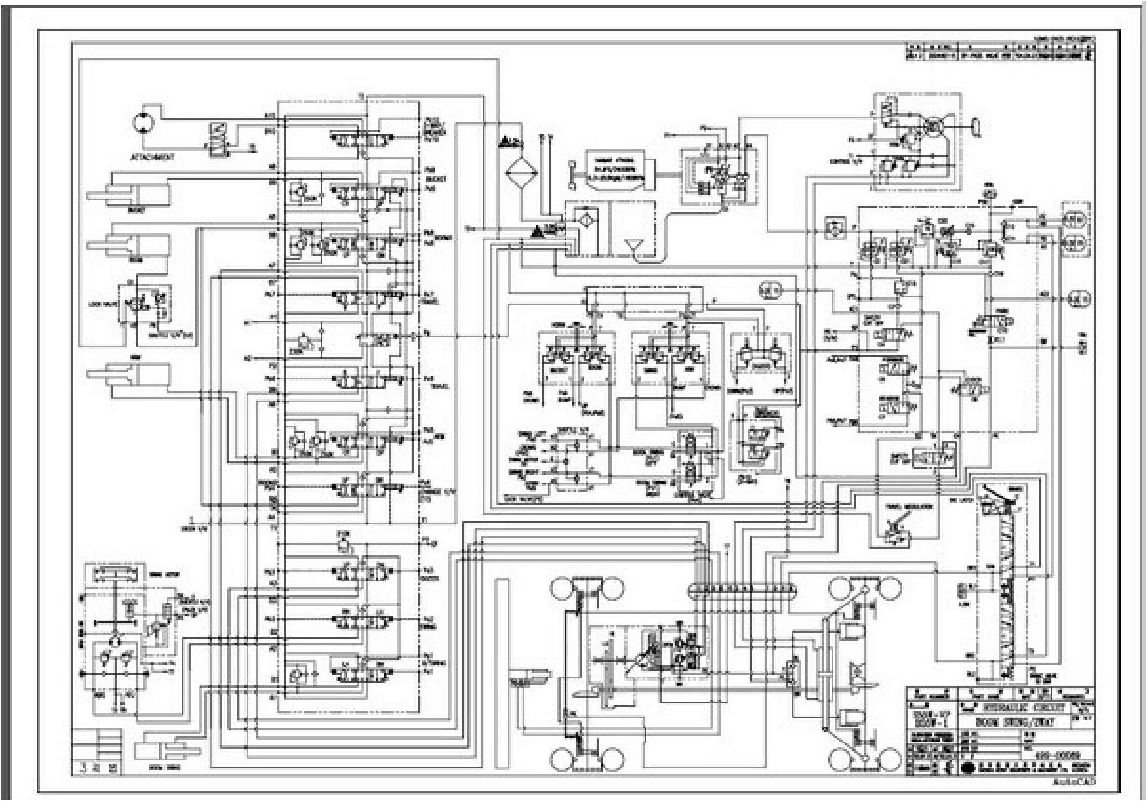 Doosan Wirings Diagrams - wheel loaders, excavators SS-01
