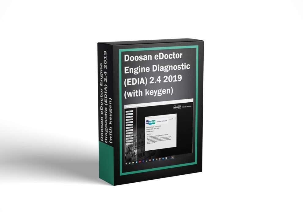 Doosan eDoctor Engine Diagnostic (EDIA) 2.4 2019 (with keygen)