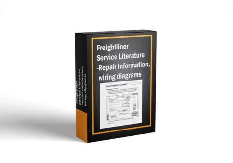 Freightliner Service Literature - Repair information, wiring diagrams