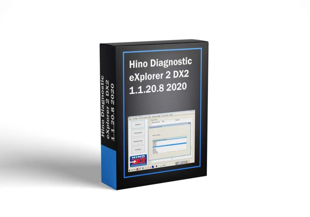 Hino Diagnostic eXplorer 2 DX2 1.1.20.8 2020