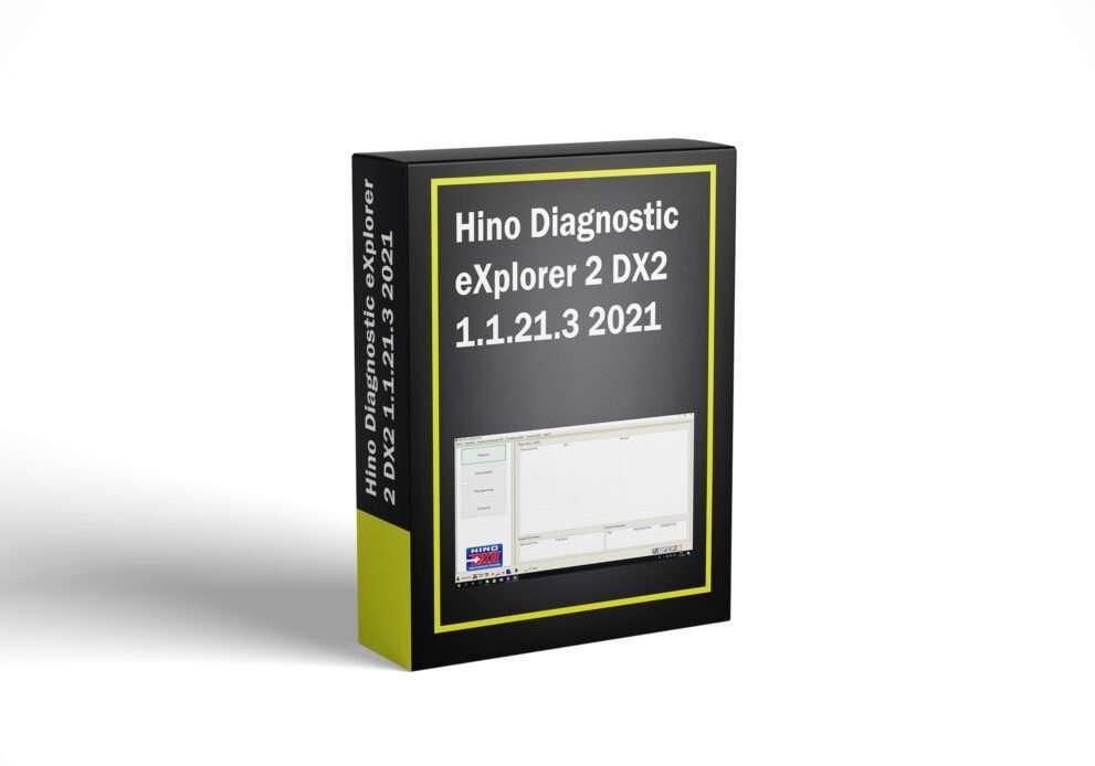 Hino Diagnostic eXplorer 2 DX2 1.1.21.3 2021