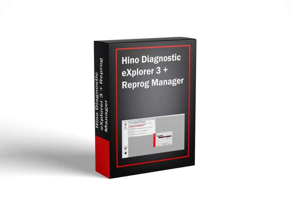 Hino Diagnostic eXplorer 3 + Reprog Manager