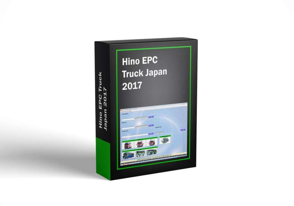 Hino EPC Truck Japan 2017