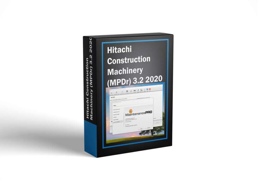 Hitachi Construction Machinery (MPDr) 3.2 2020