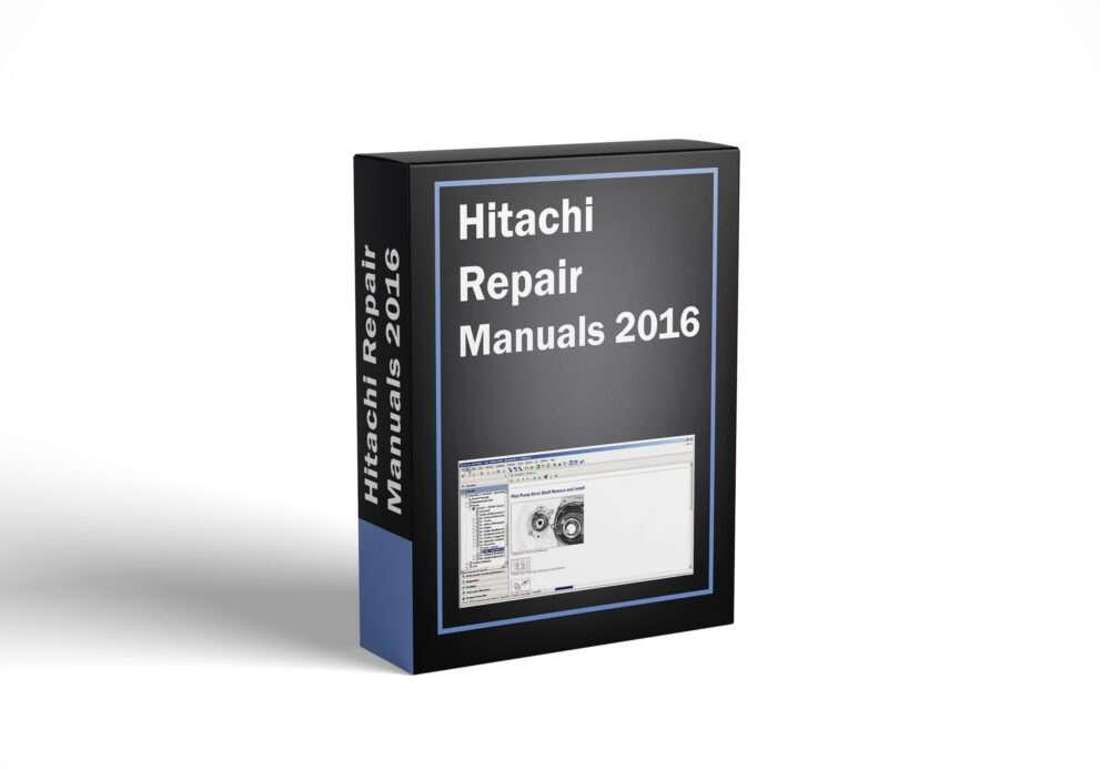 Hitachi Repair Manuals 2016
