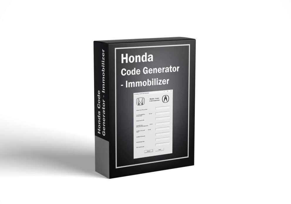 Honda Code Generator - Immobilizer