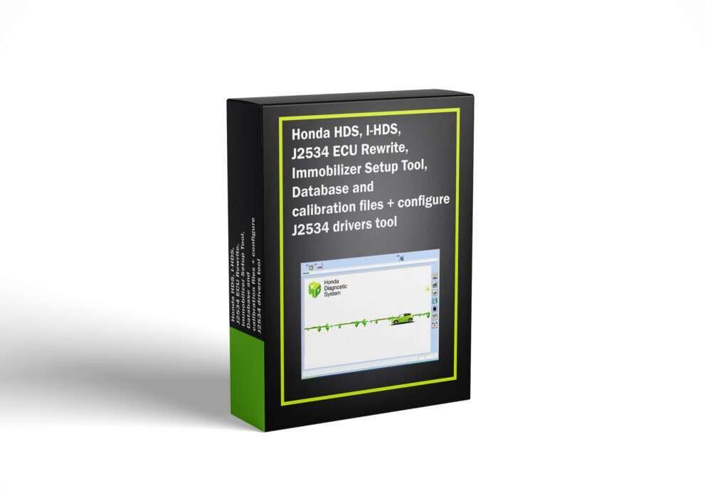 Honda HDS, I-HDS, J2534 ECU Rewrite, Immobilizer Setup Tool, Database and calibration files + configure J2534 drivers tool