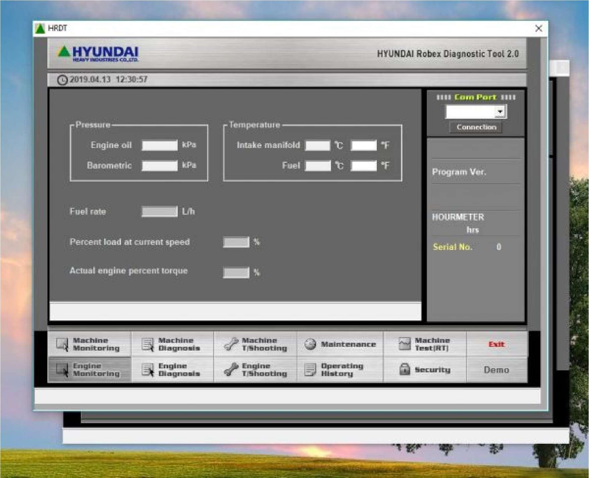 Hyundai Robex Diagnostic (HRDT) SS-01