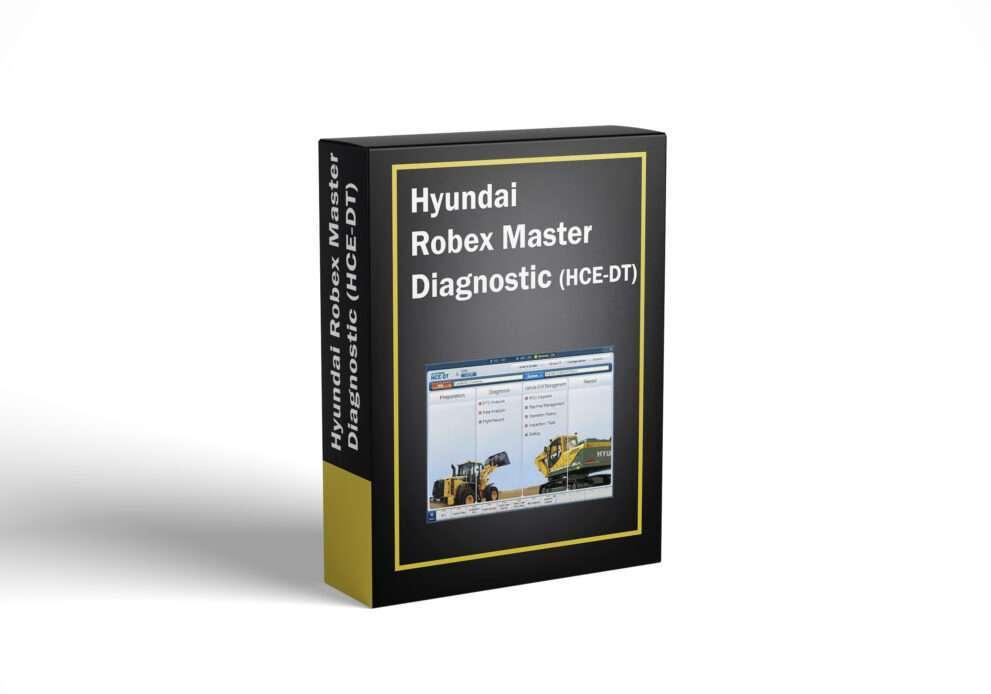 Hyundai Robex Master Diagnostic (HCE-DT)
