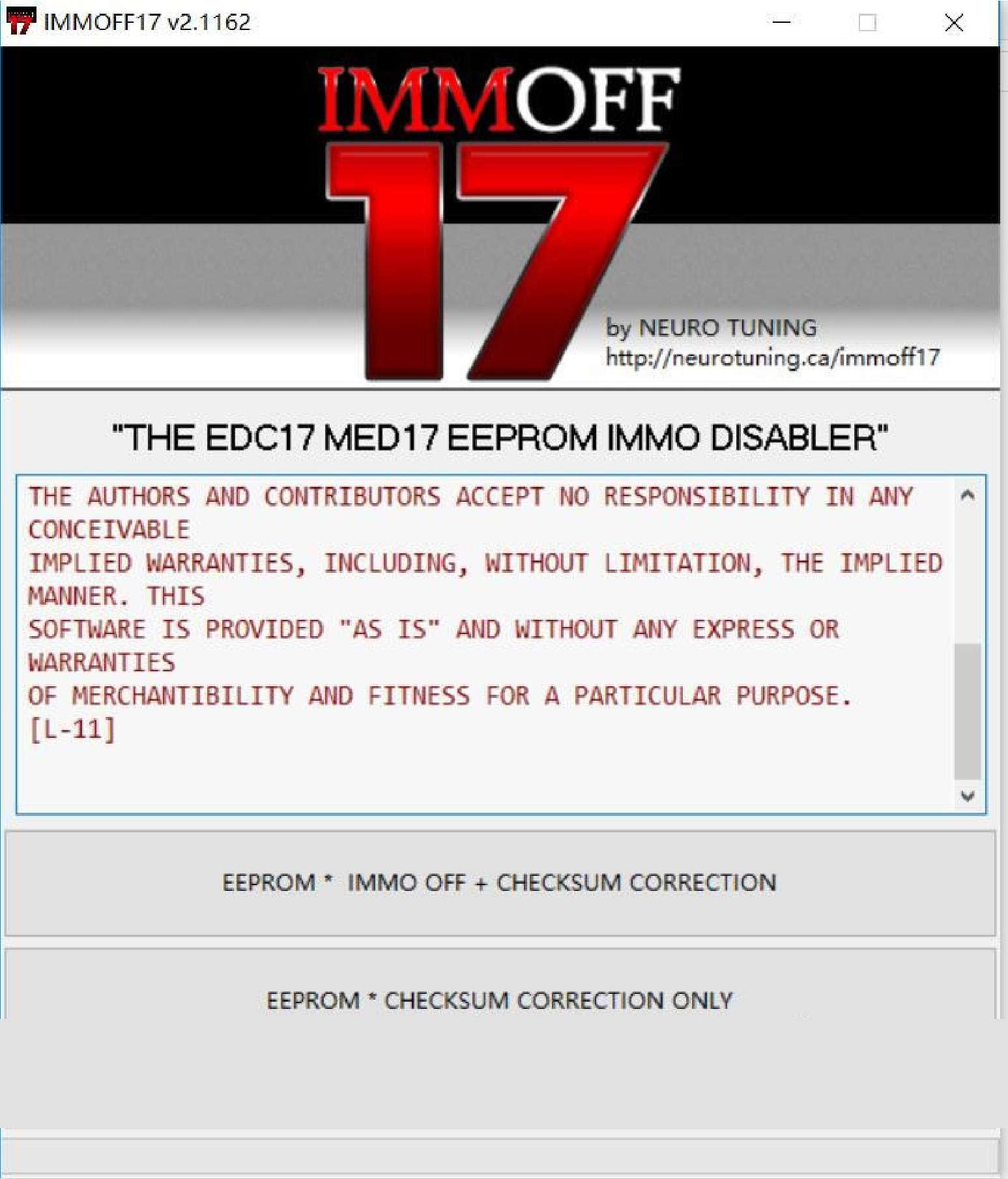 IMMO Off EDC17 MED17 2.2 - Skoda Audi Seat VW Peugeot Citroen Renault Opel ss-01-01