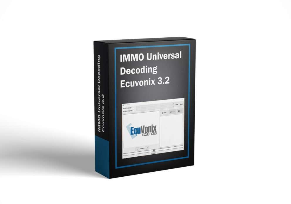 IMMO Universal Decoding Ecuvonix 3.2