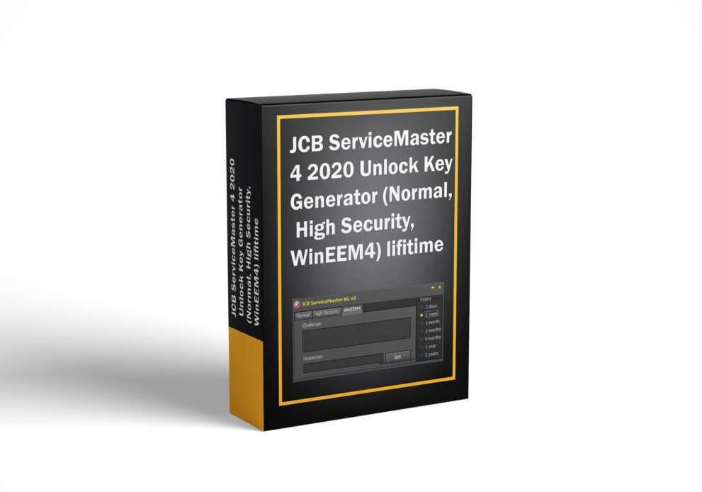 JCB ServiceMaster 4 2020 Unlock Key Generator (Normal, High Security, WinEEM4) lifitime