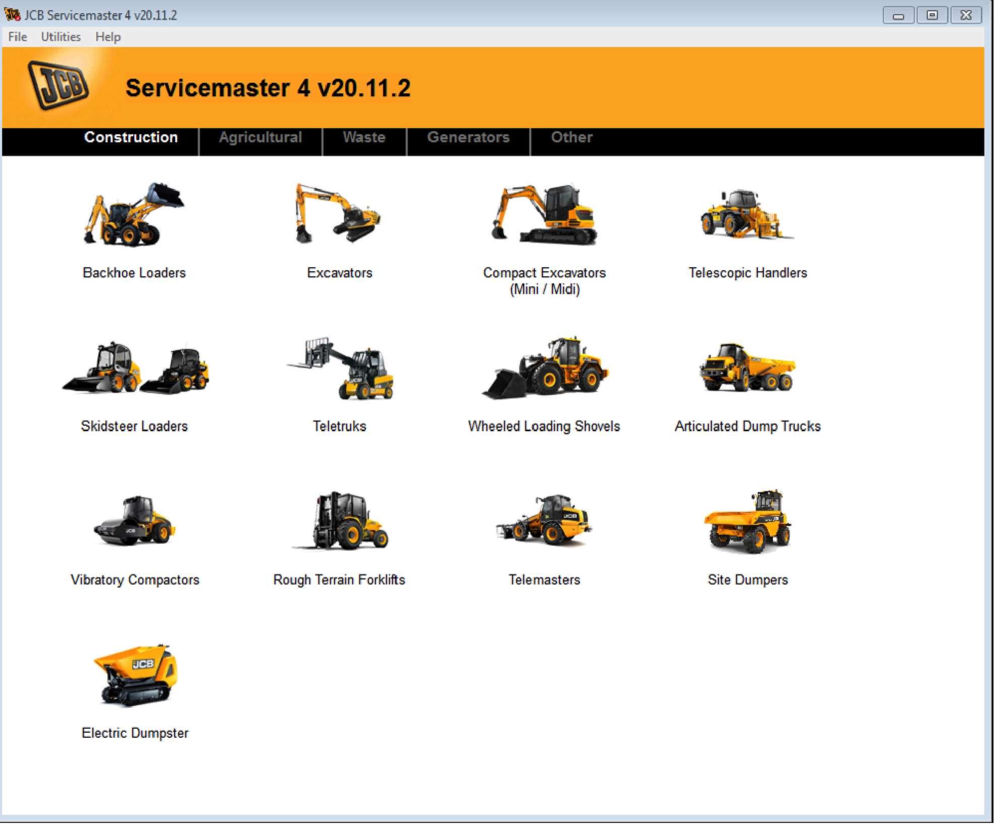JCB ServiceMaster 4 Diagnostic Full v2.21 03.2021 SS-01
