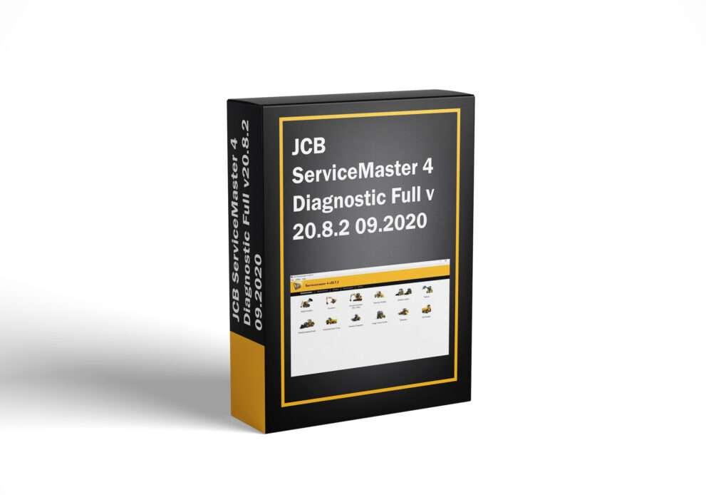 JCB ServiceMaster 4 Diagnostic Full v20.8.2 09.2020
