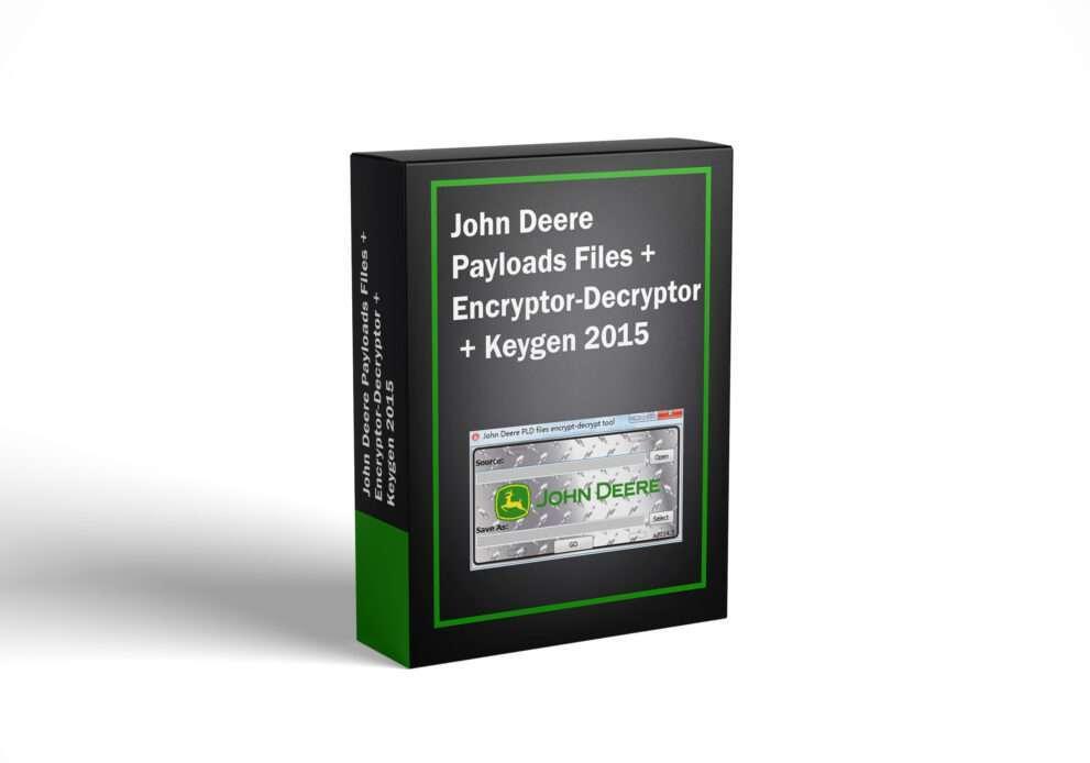 John Deere Payloads Files + Encryptor-Decryptor + Keygen 2015