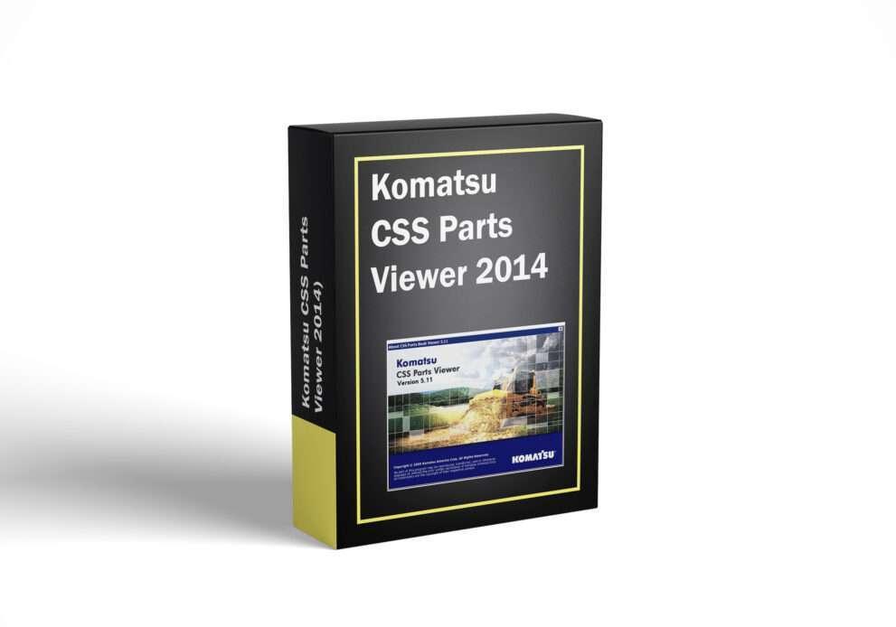 Komatsu CSS Parts Viewer 2014